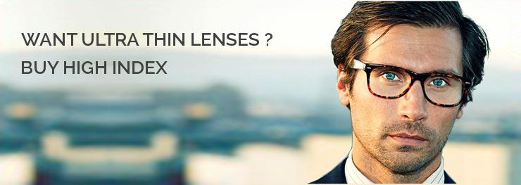 11acd7fb9e Do buy high index eyeglasses if you require a strong prescription